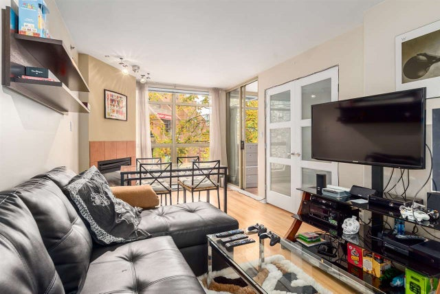 215 819 HAMILTON STREET - Downtown VW Apartment/Condo for sale, 1 Bedroom (R2008182) #1