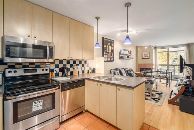 215 819 HAMILTON STREET - Downtown VW Apartment/Condo for sale, 1 Bedroom (R2008182) #7