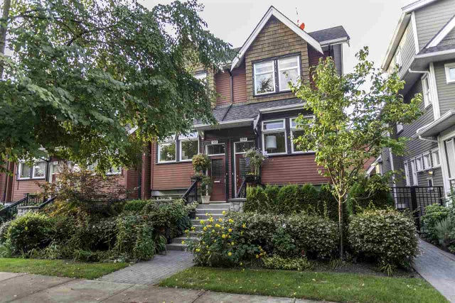 519 E 7TH AVENUE - Mount Pleasant VE Townhouse for sale, 2 Bedrooms (R2014495) #1